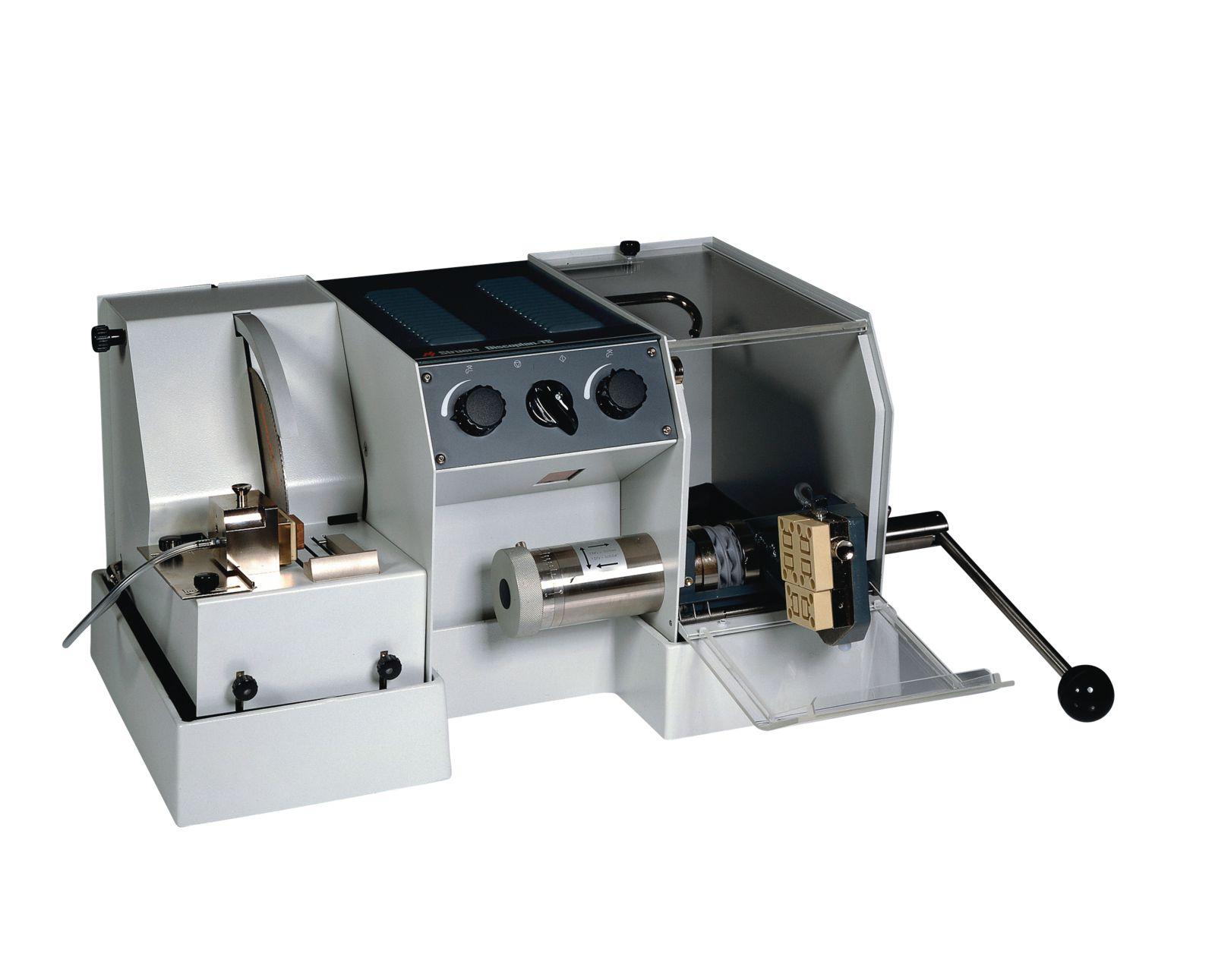 Прецизна машина за рязане и шлифоване на минералогични, петрографски и керамични тънки срезове