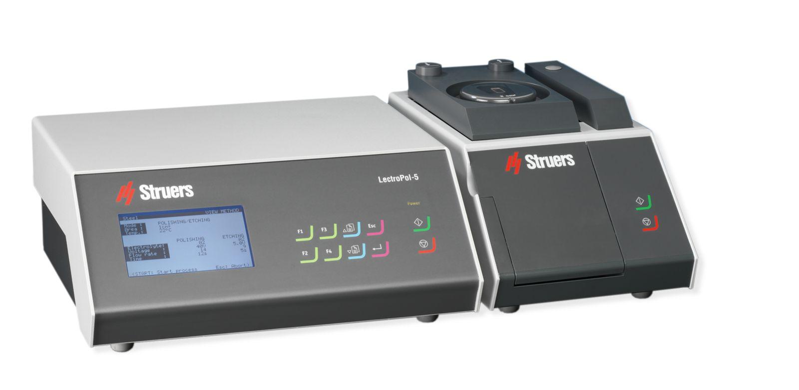 Апаратура за електролитно полиране и разяждане на металографски образци