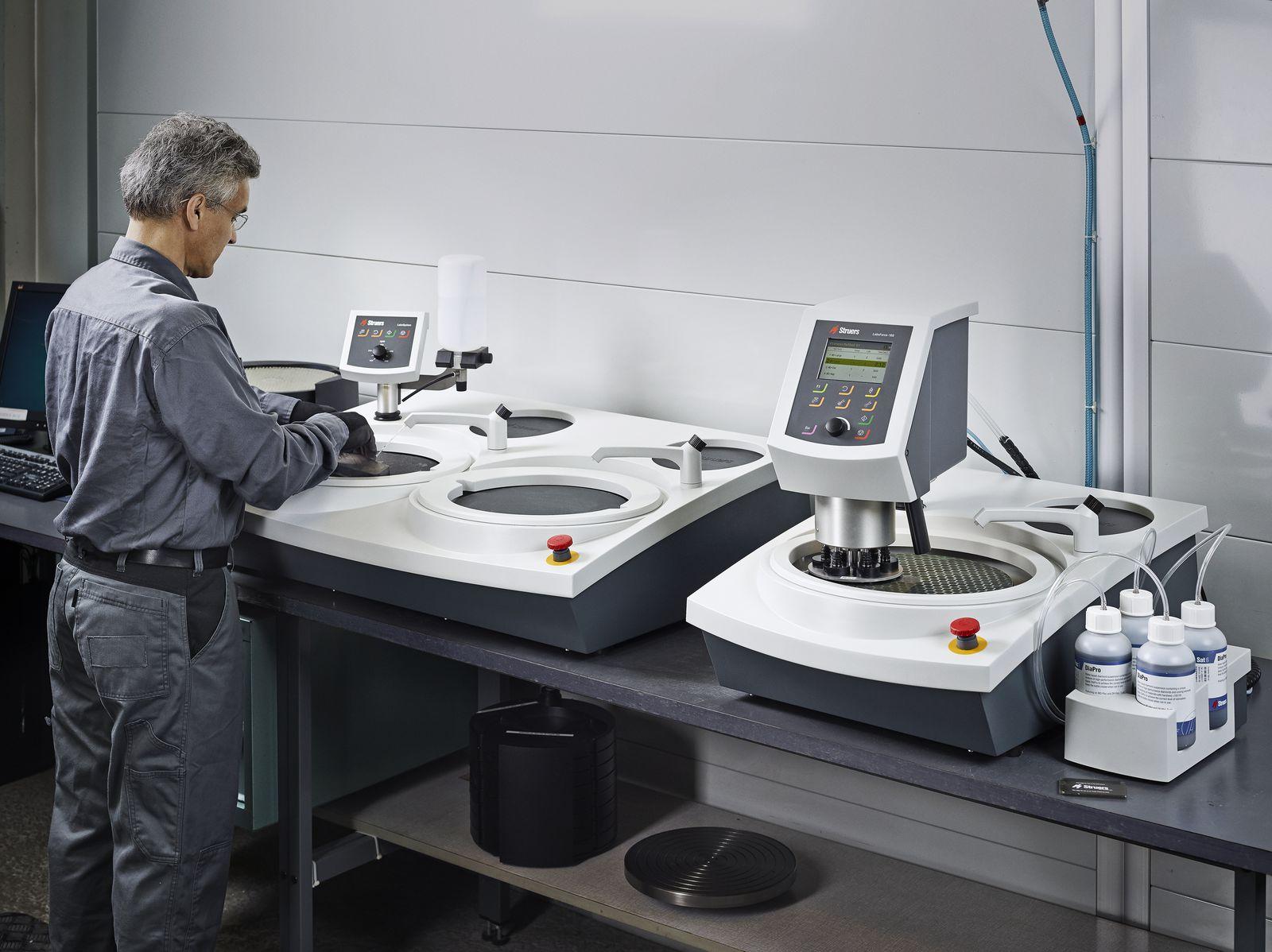 Системи за бързо ръчно и полуавтоматично шлифоване и полиране