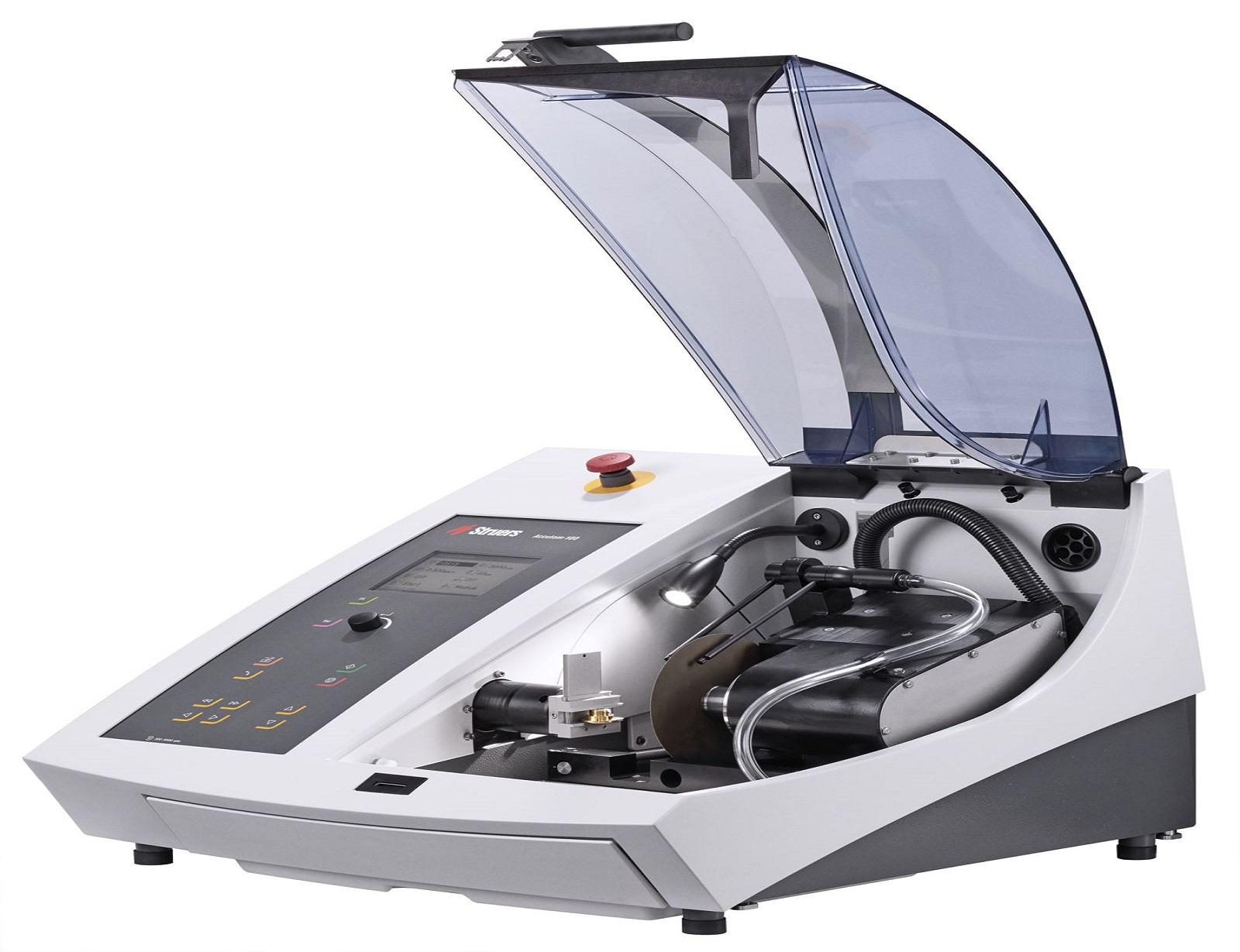Автоматична машина за рязане на металографски образци Accutom -10 -100