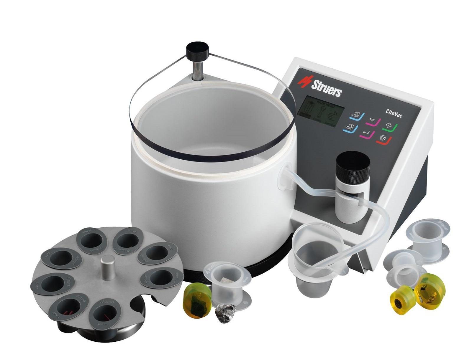 Уред за вакуумно импрегниране и заливане на порести образци в смола CitoVac