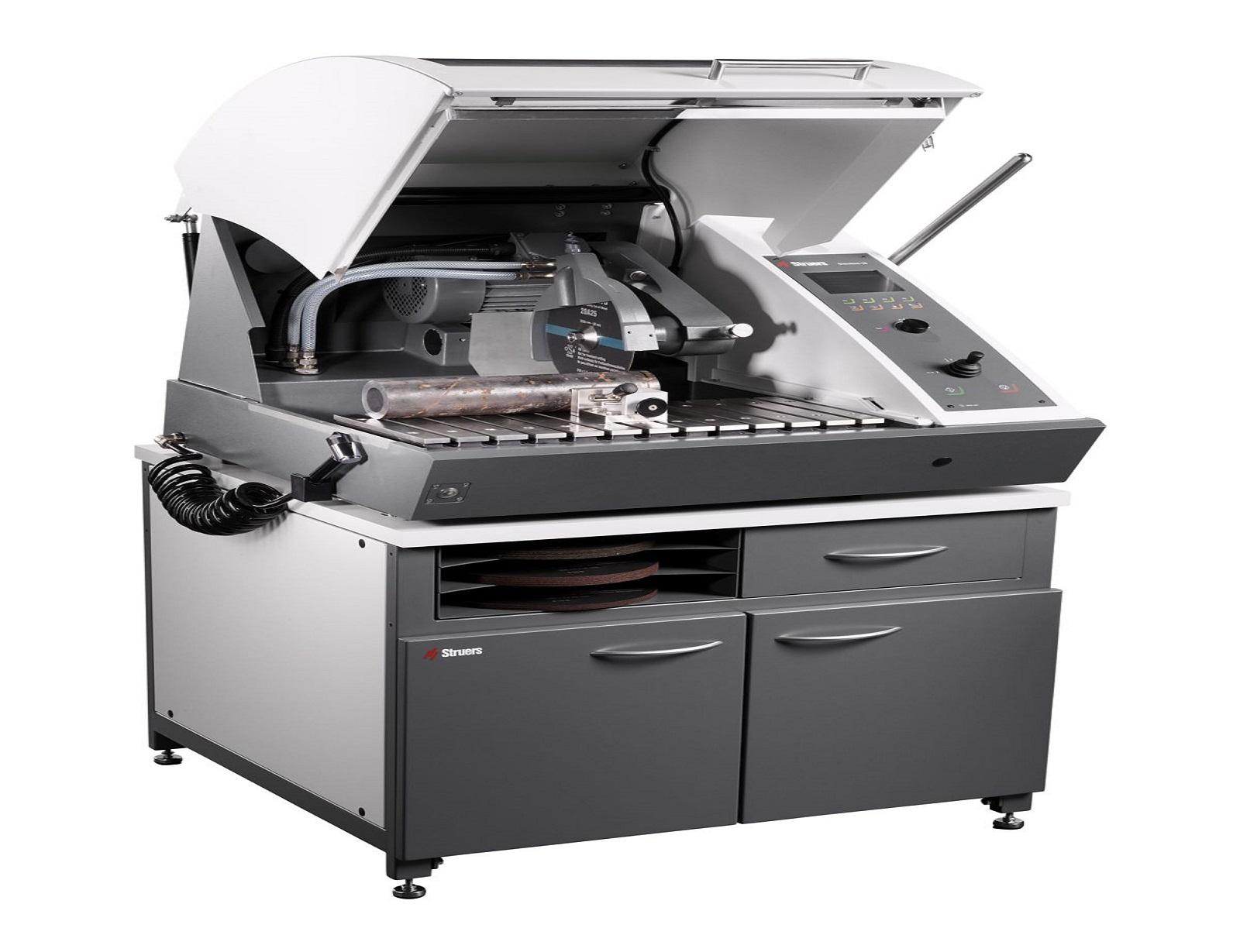 Машина за ръчно и автоматично рязане на металографски образци Discotom -100 -10
