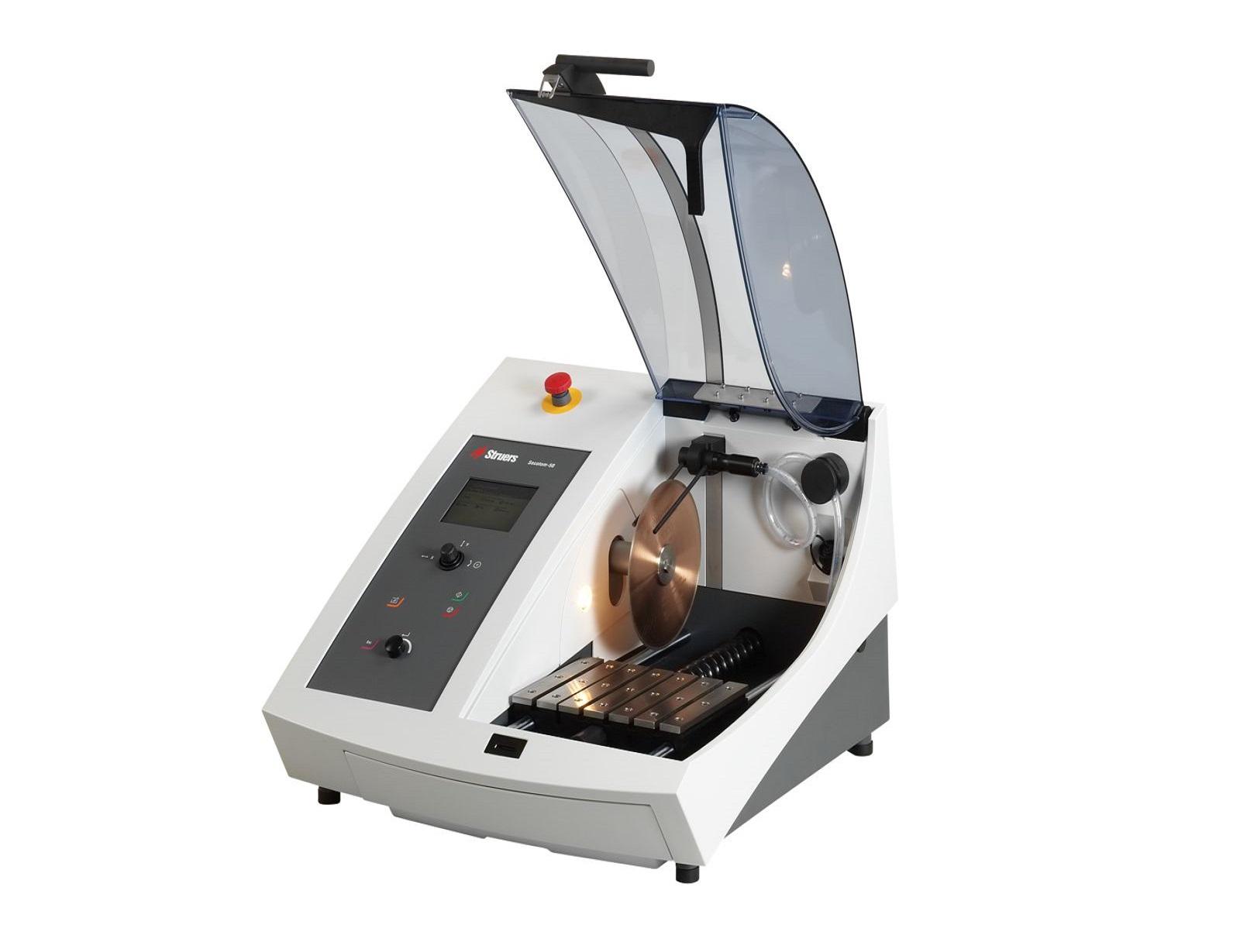 Автоматична машина за рязане на металографски образци Secotom -15 -50
